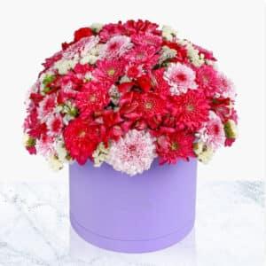 سفارش آنلاین گل و باکس گل سفارش گل در مشهد