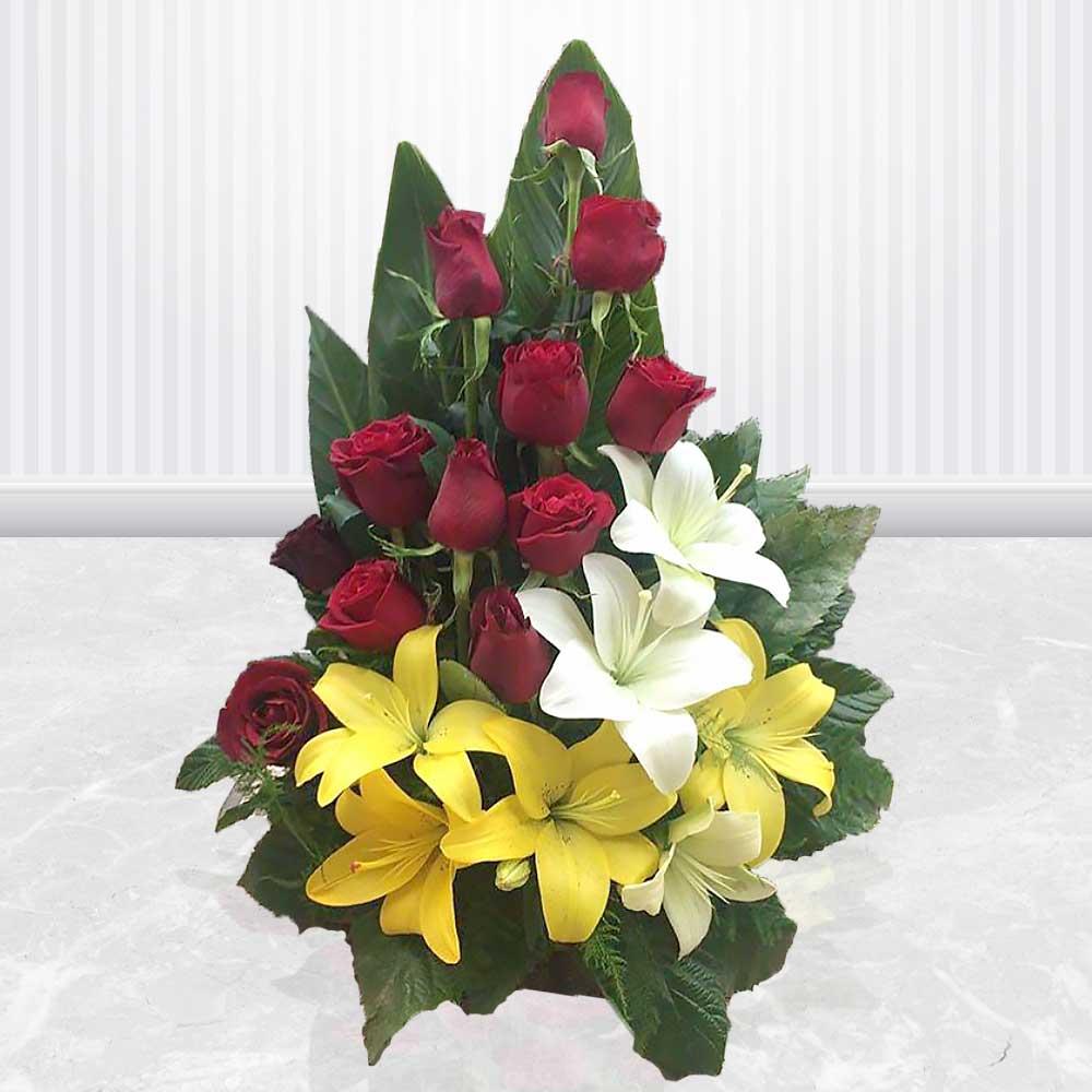 چگونگی ارسال گل