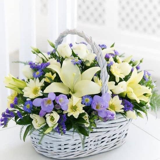 انواع سبد گل و کاربرد آن