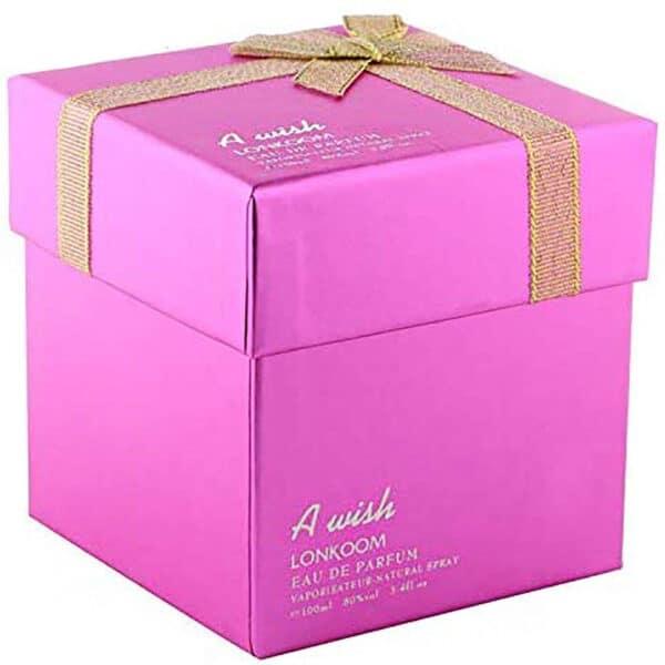 ادو پرفیوم زنانه لنکوم مدل A wish Pink حجم 100 میلی لیتر
