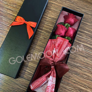 باکس گل رز شیک