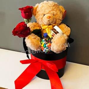باکس هدیه زیبا ولنتاین